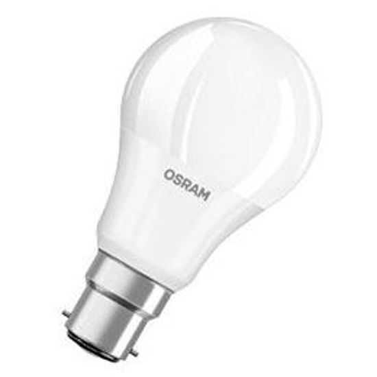 Picture of Osram LED Classic A 40 GLS Shape 5.5W B22D Warm White Frosted Globes (Sold as 10)