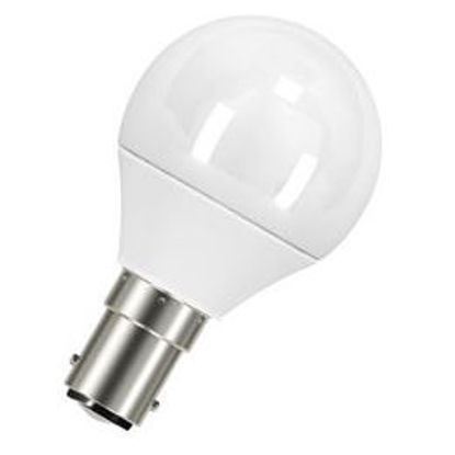 Picture of Osram 5.5W LED Classic P Fancy Round Frosted Globes (Sold as 10)