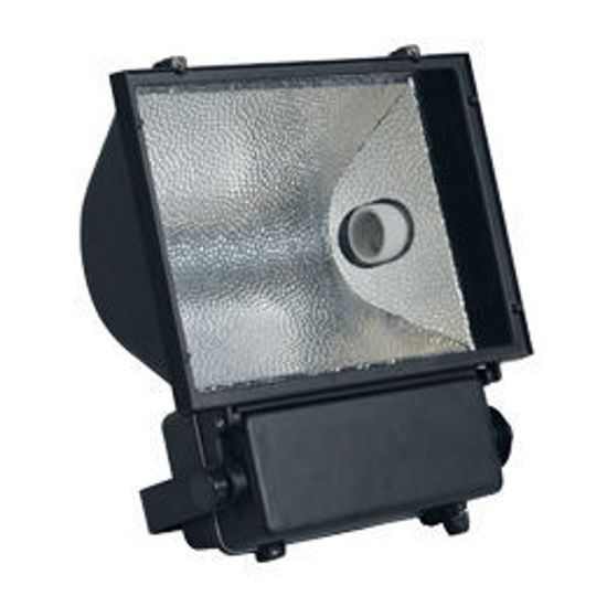 Picture of Commercial 400W Metal Halide Floodlight - Black